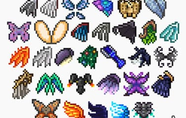 How To Craft Wings Terraria