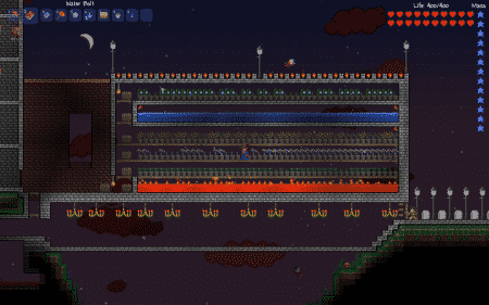 Terraria farm map