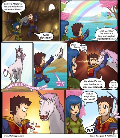 Comic - Magically Delicious