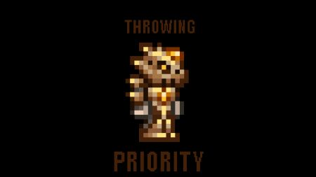 Throwing Priority [tModLoader 0.7.1.1][1.3.0.8]