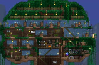Starting Tree House - Terraria v. 1.3+